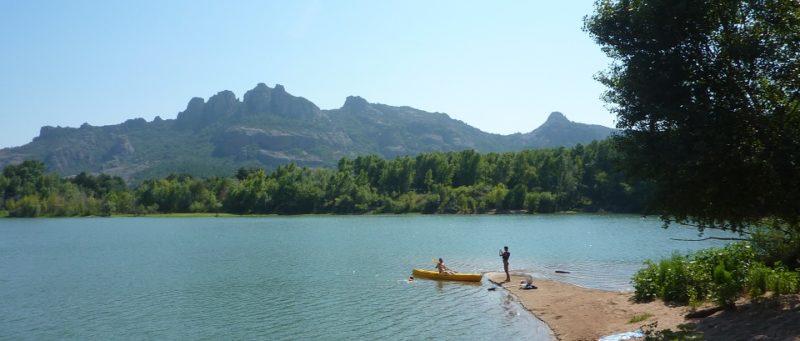 Balade en Canoe - Base du Rocher - Lac Noirel