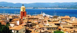 Clocher de St Tropez - Vue de la Citadelle