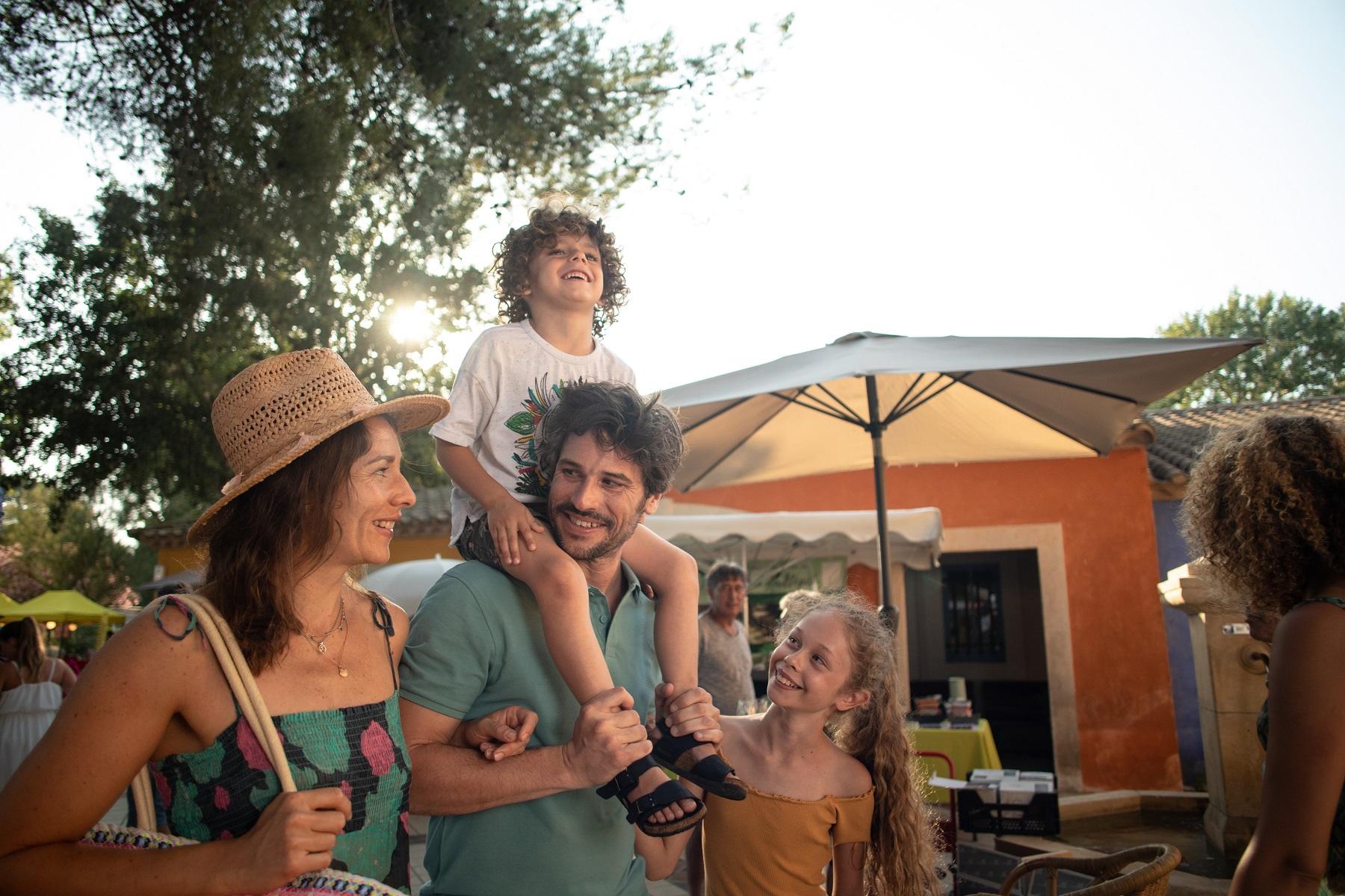 Vacances en famille dans un camping 5 étoiles