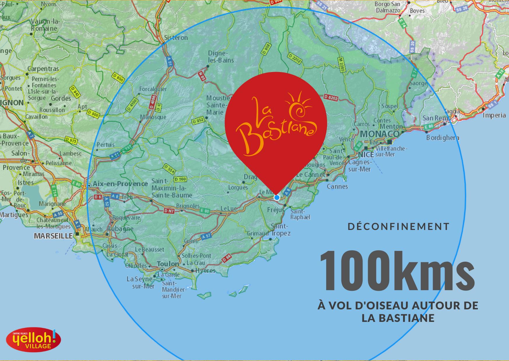 déconfinement 100kms