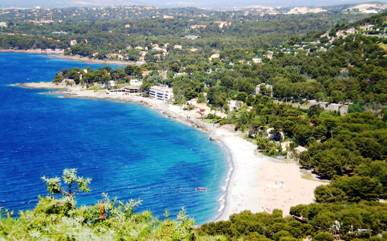 Vacances d'été sur la Côte d'Azur