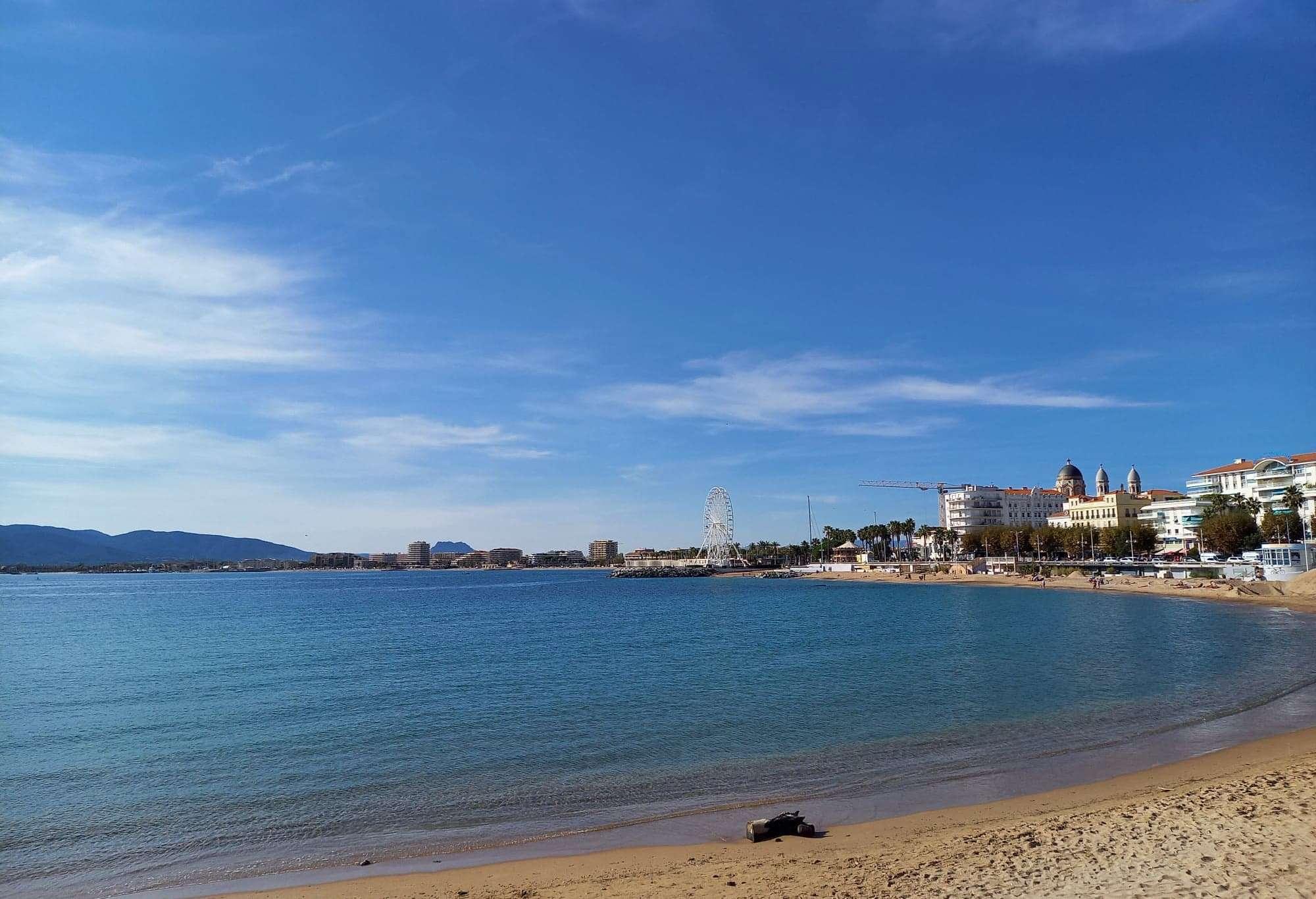 Plage de sable Saint Raphaël
