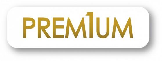 PREMIUM logo QUADRI OR et BLANC