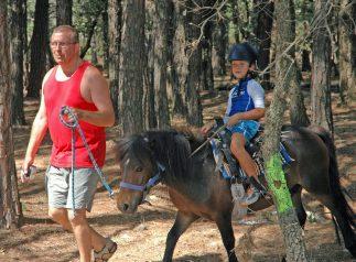 Balade a poney puget sur argens