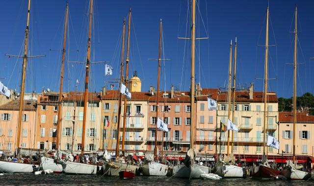 """St.Tropez, Var, """"Les voiles de Saint Tropez"""""""