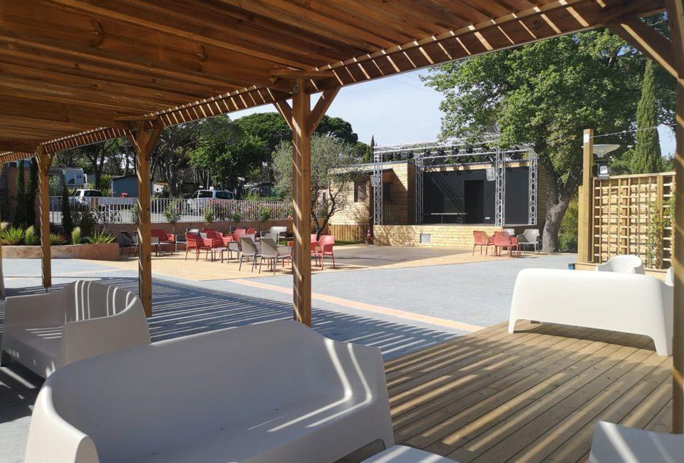 espace lounge et dancefloor
